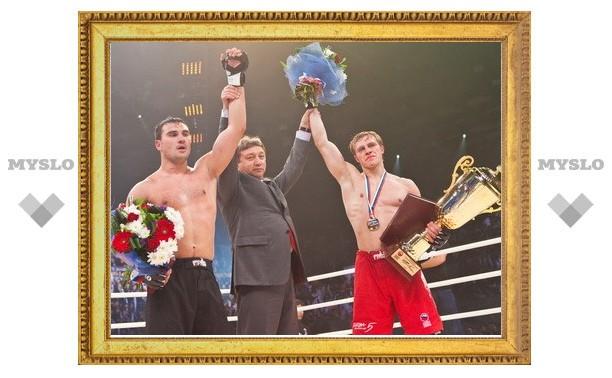 Туляк выиграл «Битву чемпионов»
