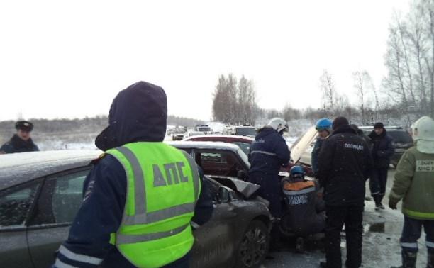 За первую неделю 2016 года в авариях в Тульской области пострадали 14 детей