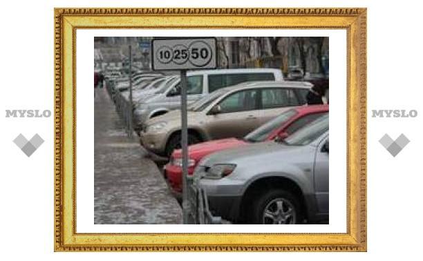 На тульских парковках орудовали автоворы