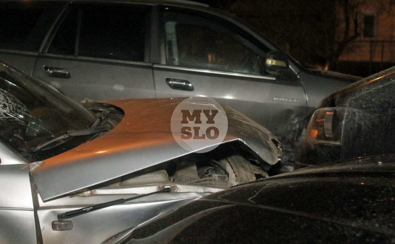 В Туле пьяный водитель устроил массовое ДТП