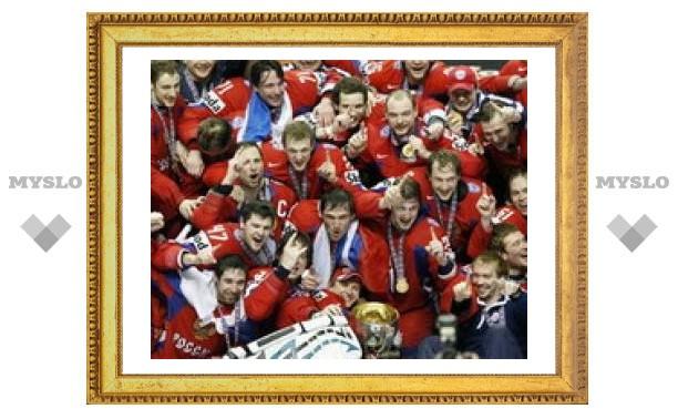 Сборная России по хоккею возглавила мировой рейтинг