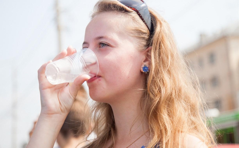В жаркие дни туляки выпили 7,5 тысяч литров воды
