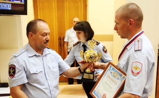 Тульский полицейский завоевал серебро на соревнованиях МВД по стрельбе из боевого оружия
