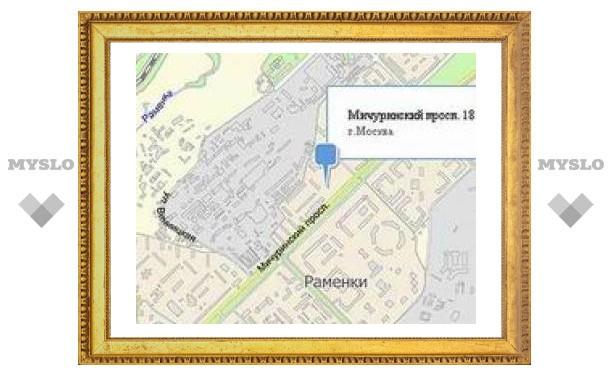 На Мичуринском проспекте в Москве взорвали иномарку