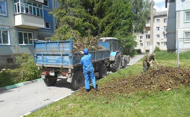 В Туле продолжают благоустраивать Привокзальный округ