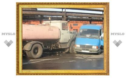 В Туле разбилась «ГАЗель» с рабочими