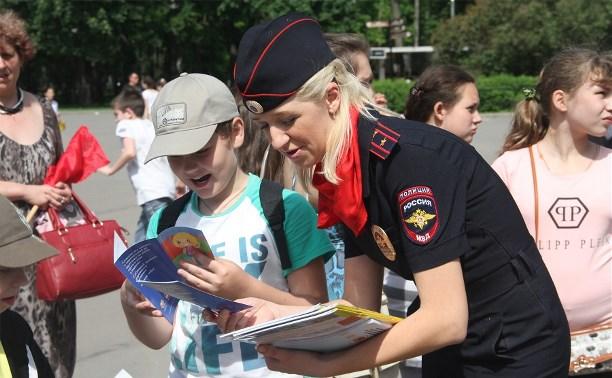 Тульская ГИБДД провела акции для детей в честь 1 июня