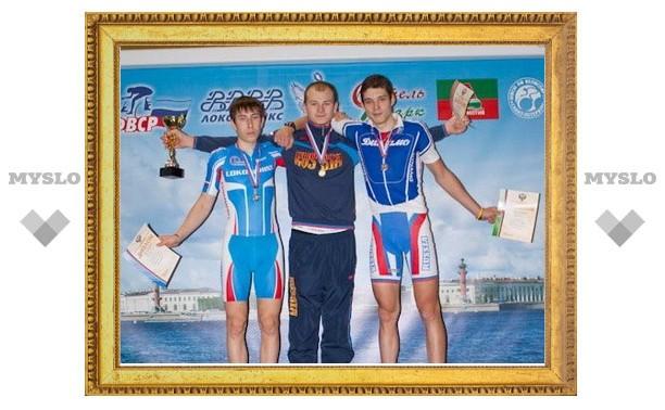 Тульские велосипедисты завоевали медали в Санкт-Петербурге