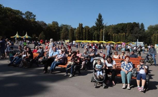 В Центральном парке Тулы стартовал «Школодром-2019»
