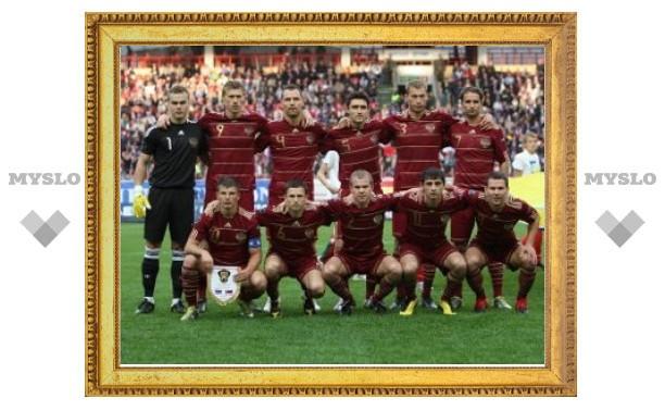 Сборной России по футболу нашли соперника на первый матч в 2011 году