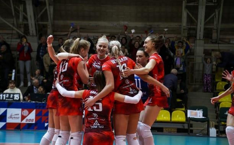 Большой волейбол снова в Туле: «Тулица» сыграет два товарищеских матча с «Динамо»