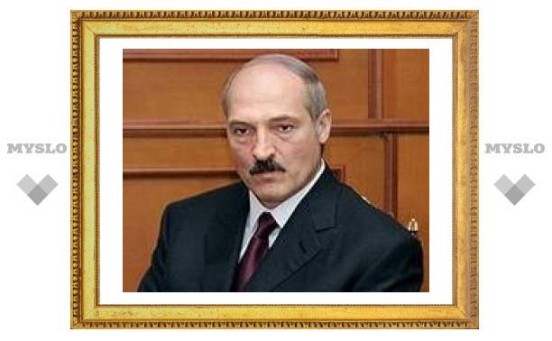Лукашенко предсказал падение цены на российский газ