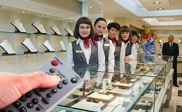 Вооруженный пультом от телевизора туляк пытался ограбить ювелирный магазин