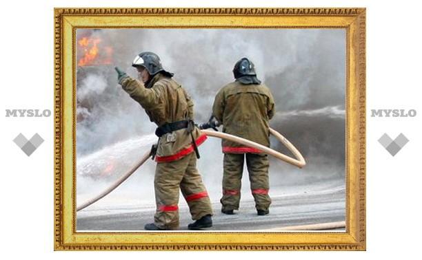 Курение стало причиной пожара под Тулой