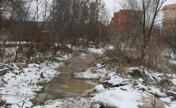 На Зеленстрое в Туле устранили аварию на канализационных сетях