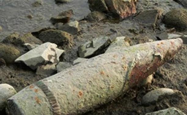 Жители области нашли минометную мину и артиллерийский снаряд
