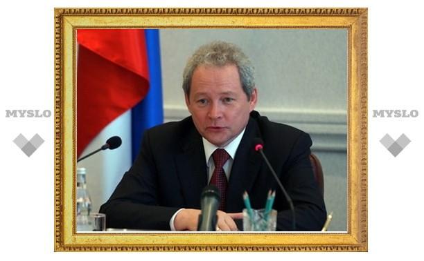 В Алексин с рабочим визитом прибыл Виктор Басаргин