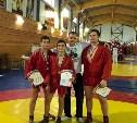 Тульские спортсмены завоевали медали на первенстве ЦФО по самбо