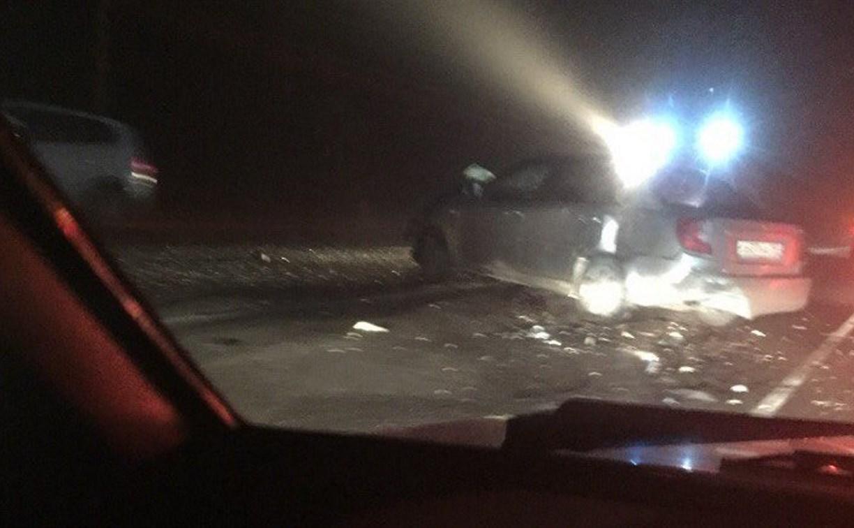 На трассе «Крым» под Тулой столкнулись пять автомобилей