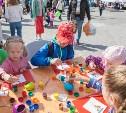 В День города Узловский молочный комбинат подарил праздник юным тулякам