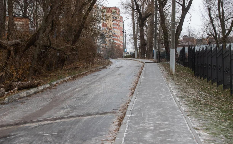 Туляки про гололёд: «В Платоновский парк можно только съехать!»