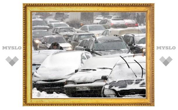 В Туле транспортный коллапс