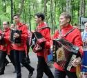 В Центральном парке Тулы прошел 3-часовой марафон игры на гармони