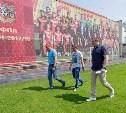 Валерий Шерин проверил подготовку стадиона «Арсенала» к квалификационным раундам Лиги Европы