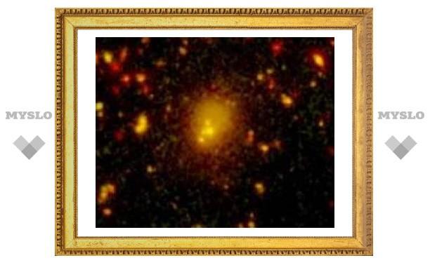 Обнаружено крупнейшее столкновение галактик
