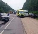 В ДТП на выезде из Тулы пострадали два человека
