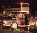 Под Новомосковском столкнулись отечественная «пятёрка» и пассажирский автобус Setra