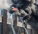 Пожар в «Тульской манежке» тушили 16 человек