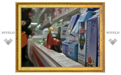 В Туле начались рейды по молоку
