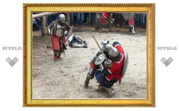 Тульские «Витязи» стали вторыми в средневековых сражениях