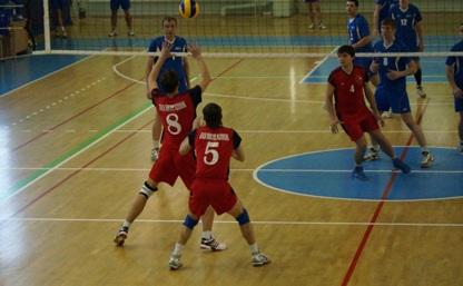 Волейболисты ТулГУ одержали первую победу