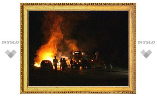 На Петров день туляки подожгли несколько улиц