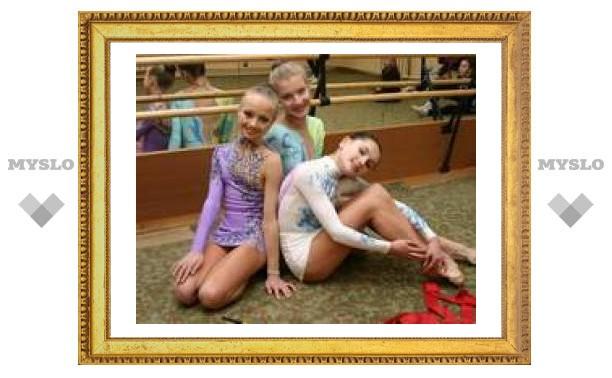 Тульские гимнастки стали первыми