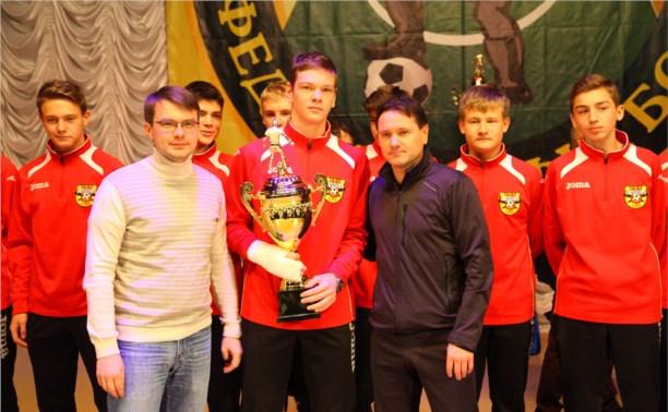 Дмитрий Аленичев наградил лучших футболистов области