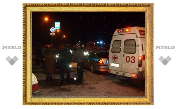В Туле иномарка сбила пешехода и, уходя от гаишников, еще двоих человек