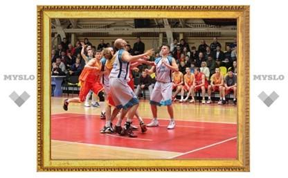В тульском баскетбольном дерби сыгран первый матч