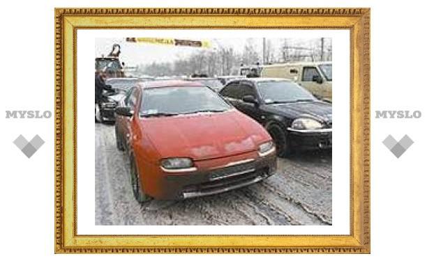 Скользкая дорога стала причиной аварии