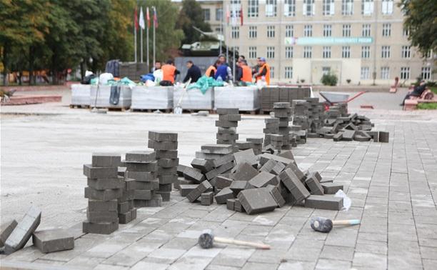 Владимир Груздев: «Проверять качество плитки будем вместе с жителями!»