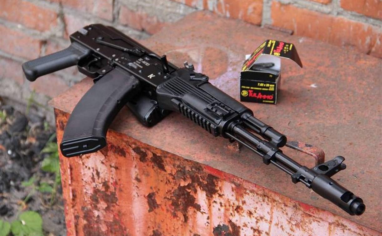 Утром на пр. Ленина в Туле мужчина устроил стрельбу