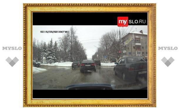 Новомосковск: два нарушителя в одном месте