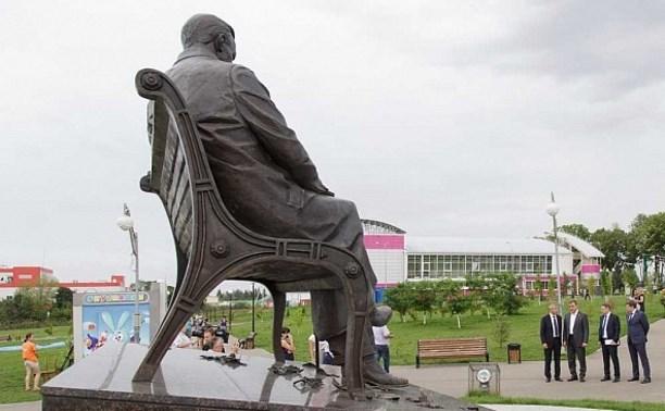 В Ефремове продолжают благоустройство парка культуры и отдыха