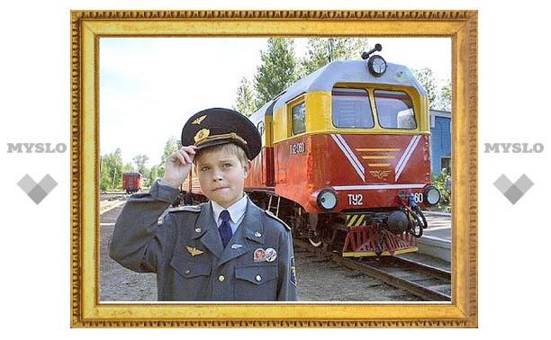 Детская железная дорога Новомосковска откроет новый сезон