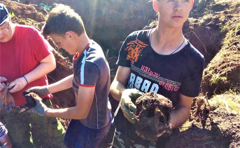 В Киреевском районе обнаружено крупное захоронение бойцов Красной армии