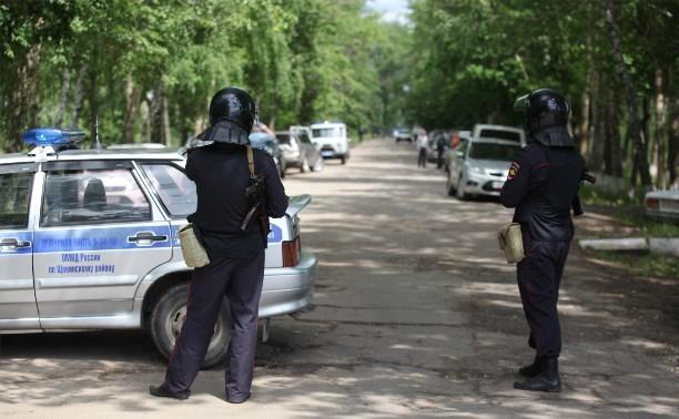 На территории щекинской исправительной колонии прошли антитеррористические учения