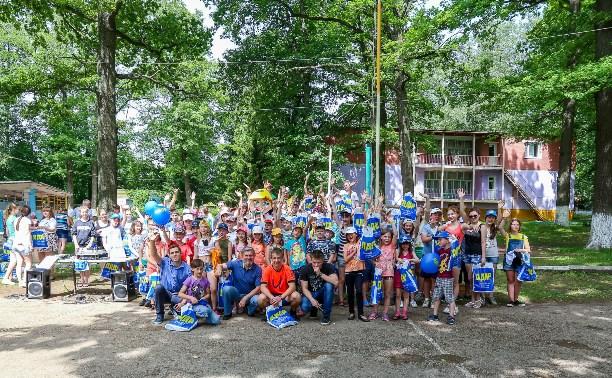 В детском лагере «Октава» прошли «Весёлые старты»