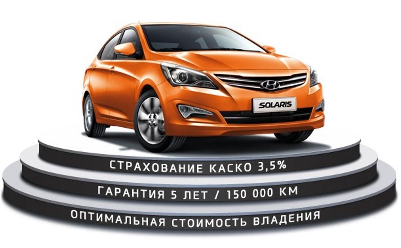 Весомые преимущества при покупке Hyundai Solaris в марте!